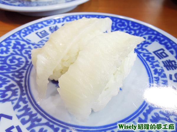 鰈魚側緣握壽司