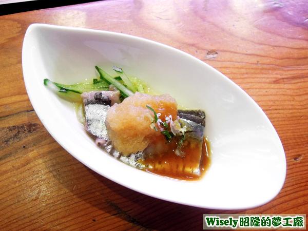 果醋秋刀魚