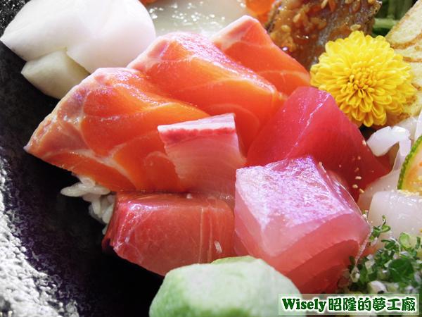 各種生魚片