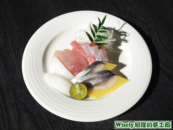 生魚片(花枝/旗魚/鮭魚/鯡魚)