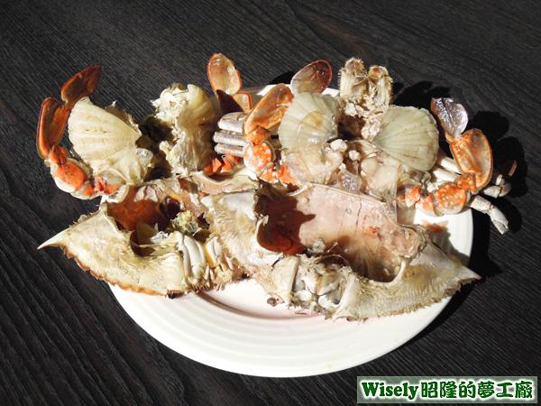 三點蟹、青花蟹