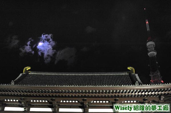 增上寺、東京鐵塔