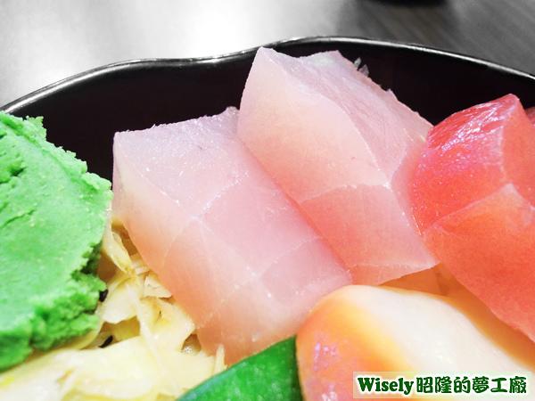 旗魚生魚片