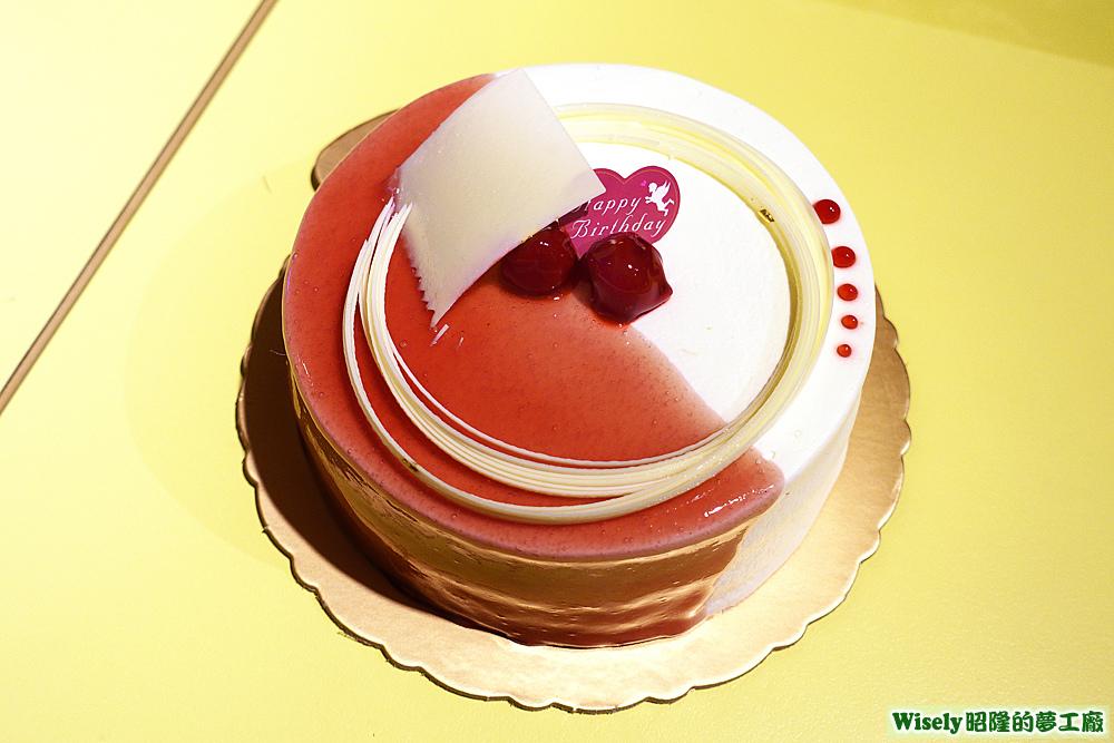 咕咕霍夫A+左岸生日蛋糕