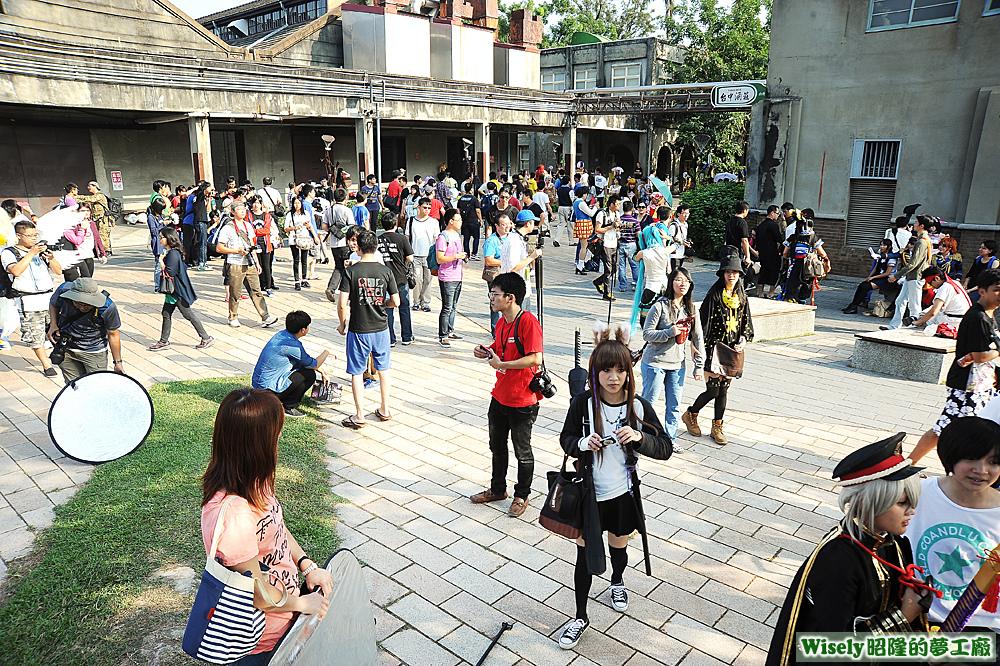 中央廣場cosplay活動