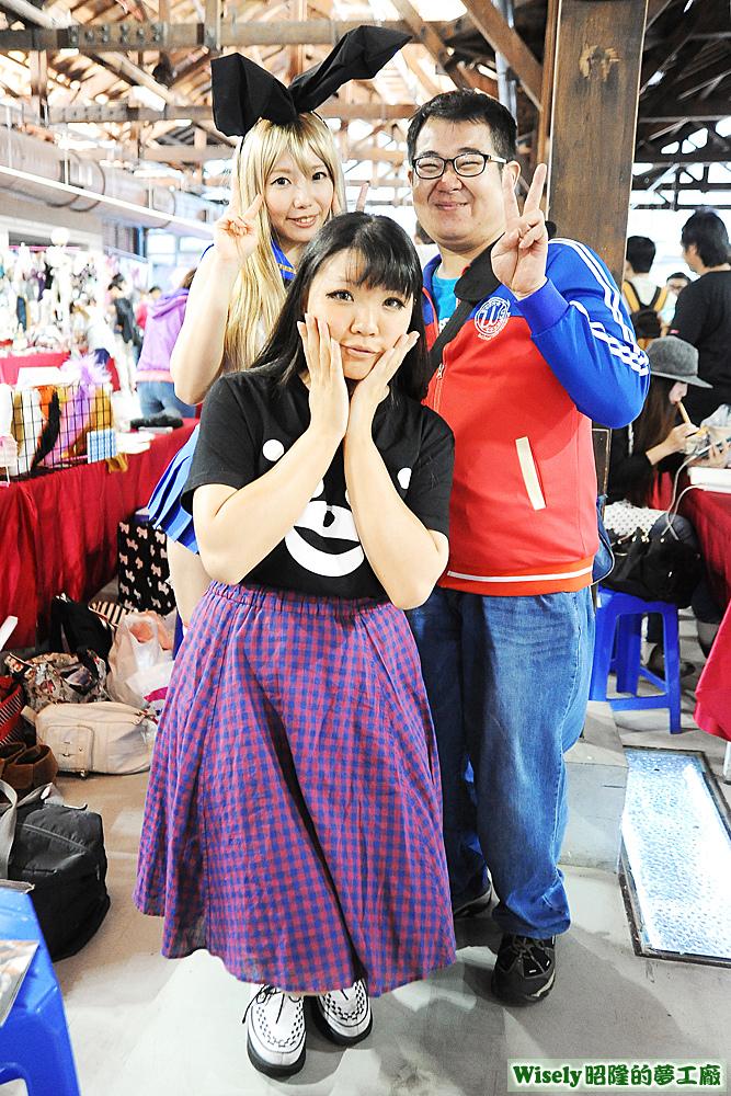 天使みゅ。(Amatuka Miyu)、夫米、傑哥