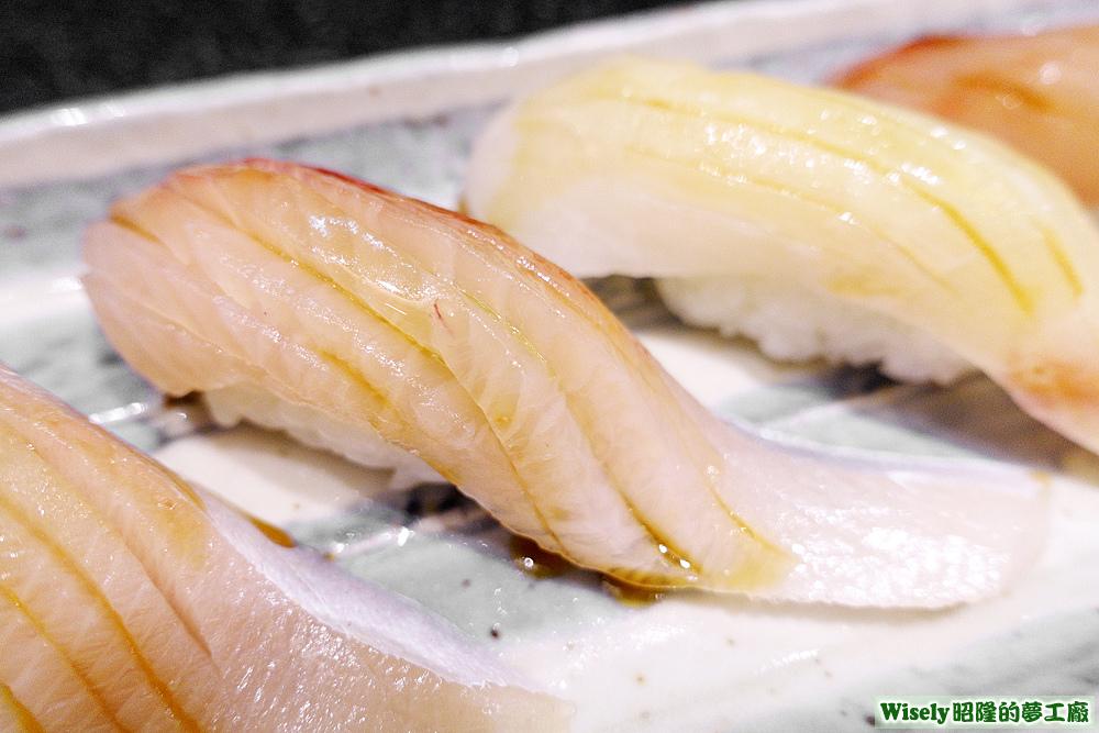紅魽(杜氏鰤/高體鰤)肚握壽司