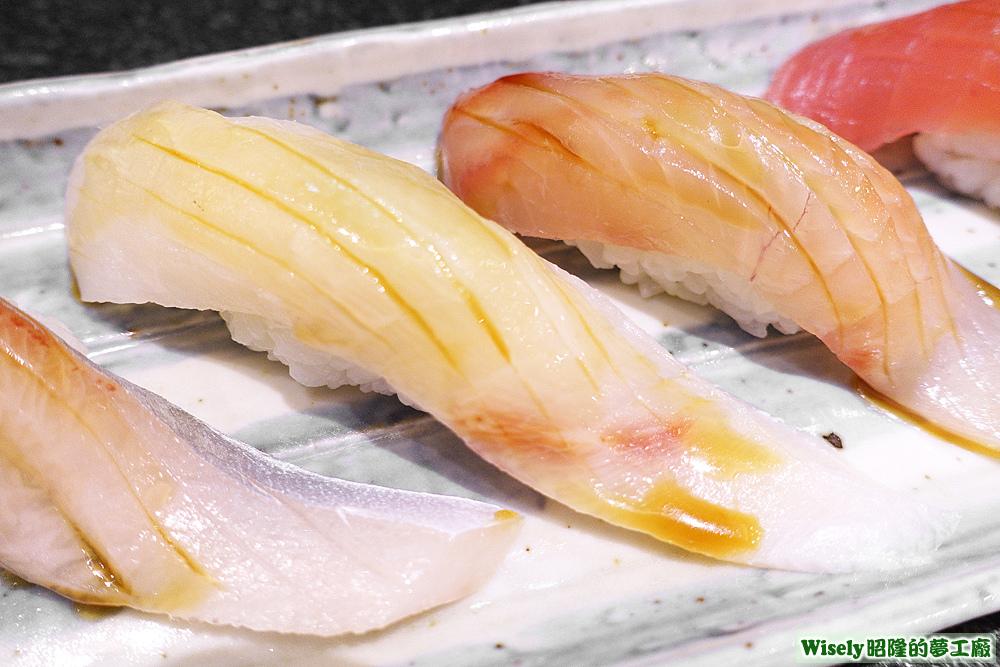 紅魽(杜氏鰤/高體鰤)握壽司