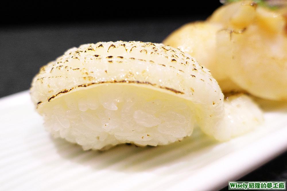 檸香比目鰭邊肉握壽司