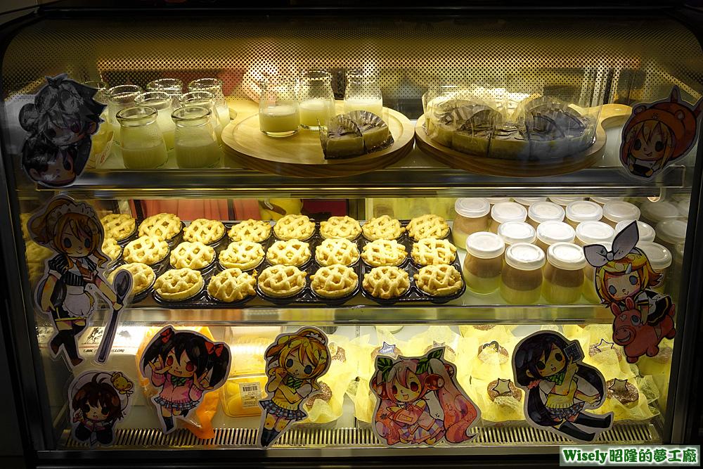 蛋糕甜點冰櫃