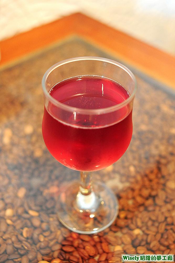愛戀玫瑰氣泡紅酒
