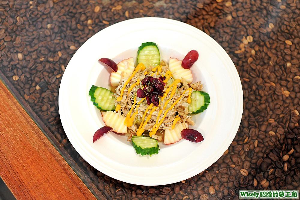 希臘酸黃瓜雞絲沙拉