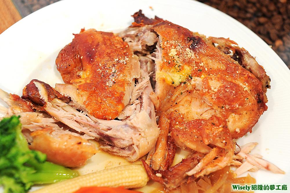 普羅旺斯香草燻烤半雞