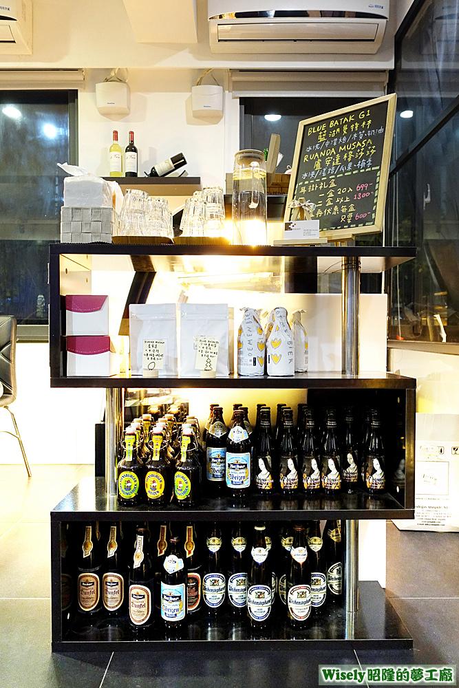 啤酒陳列架