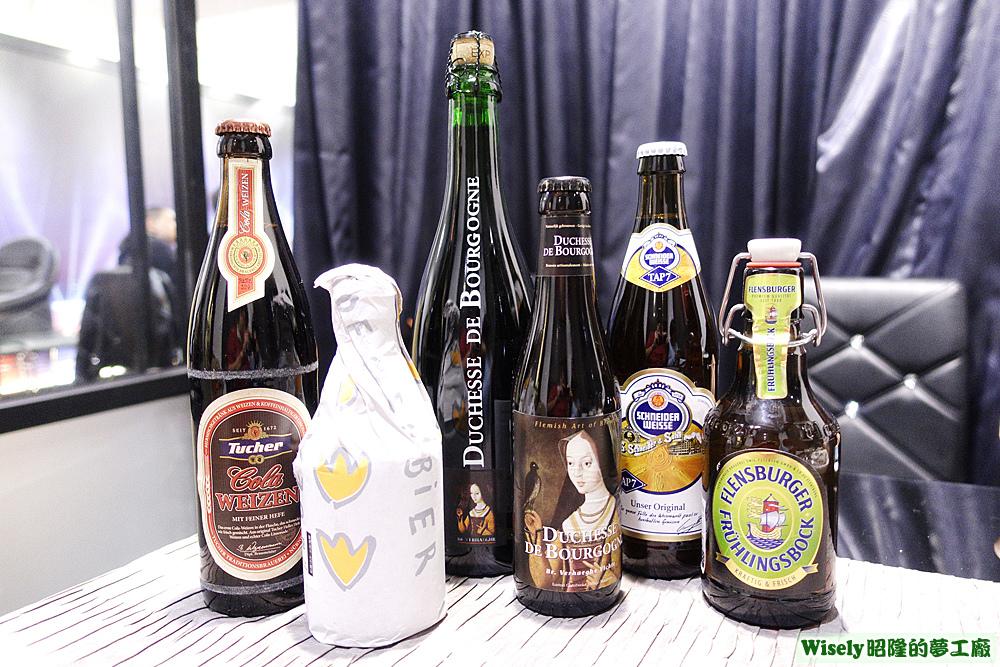 各種歐洲進口啤酒