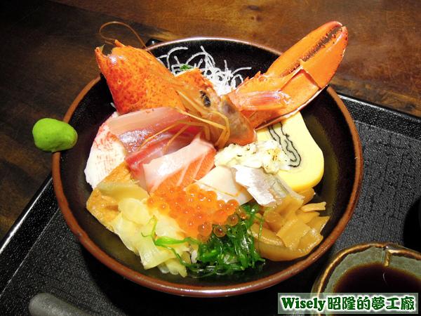 本日限定海鮮丼