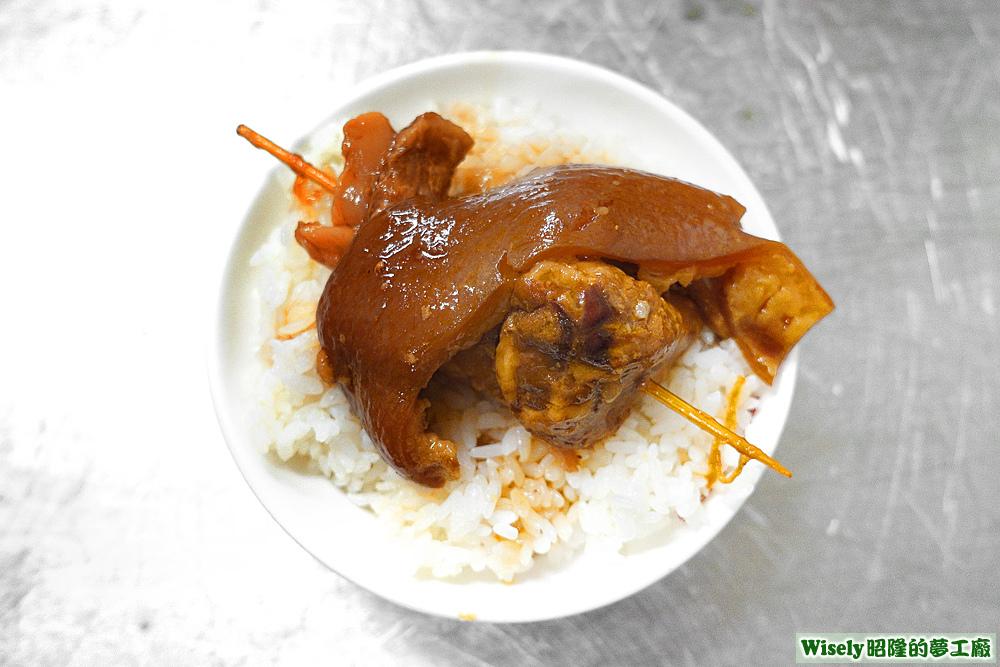 爌肉飯(腳庫)