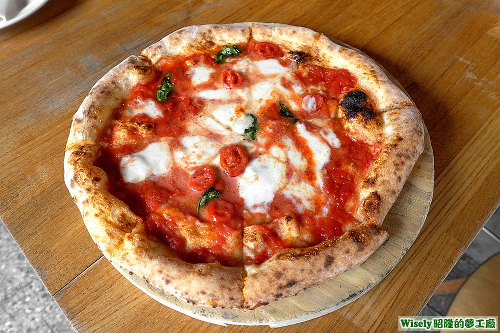 瑪格莉特Margherta披薩(十吋)