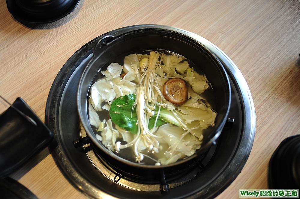 原味雞湯鍋