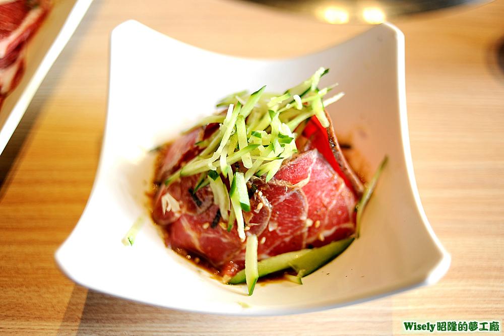 發燒商品:炙燒和風生牛肉