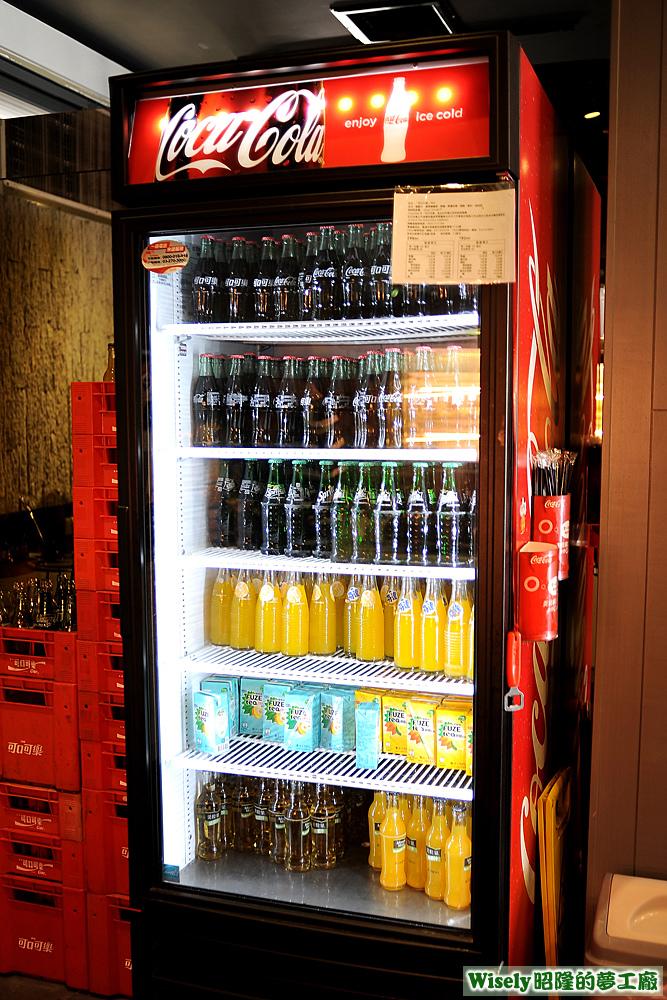 可口可樂冰箱