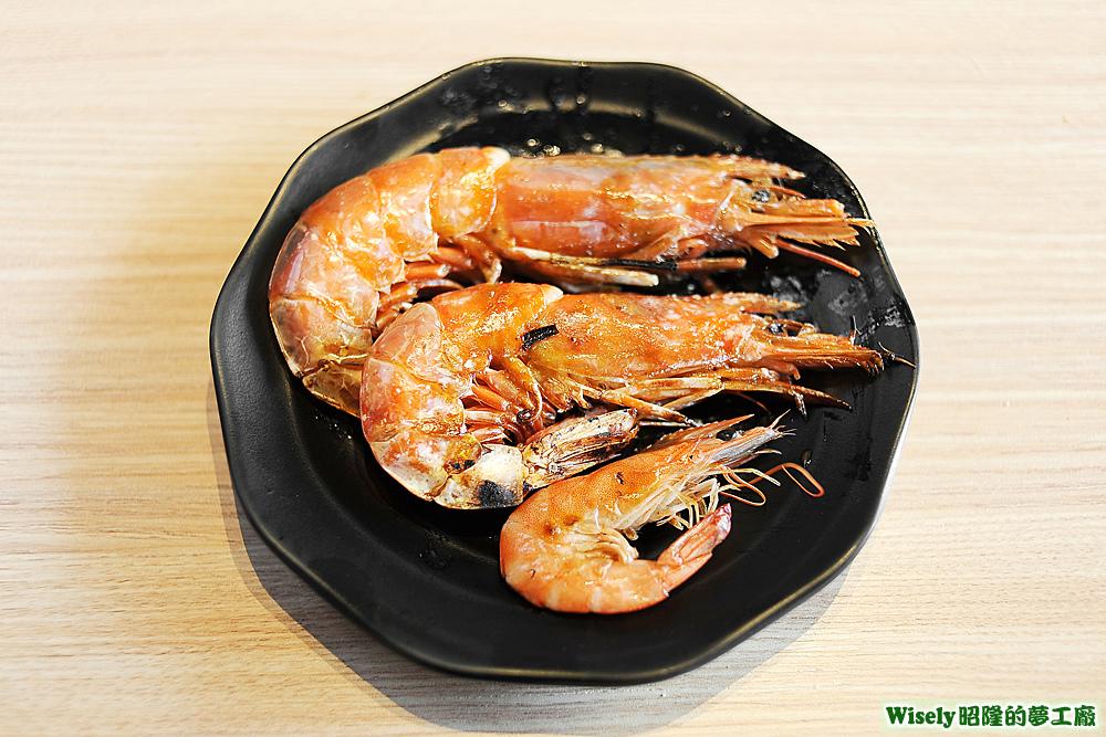 天使紅蝦、嚴選大草蝦、活跳蝦