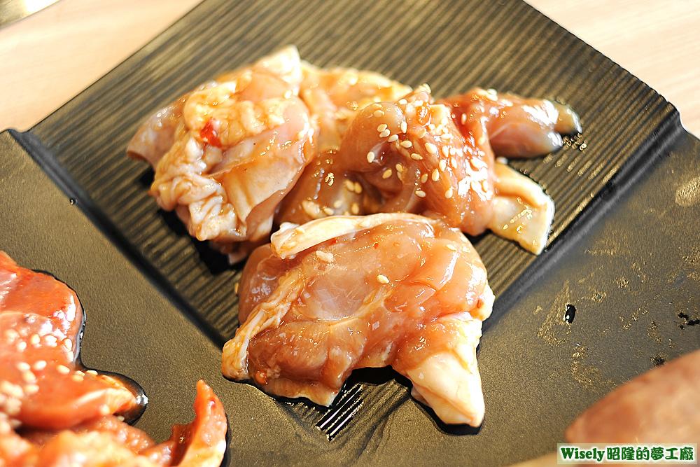 彈牙雞腿肉(醬燒)