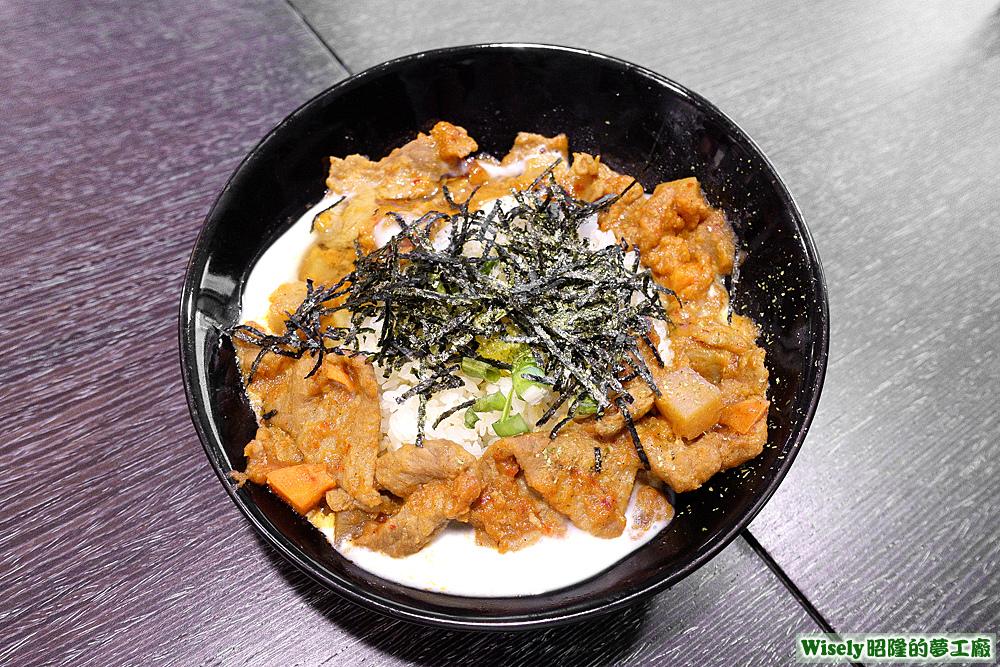 韓式蛋拌飯