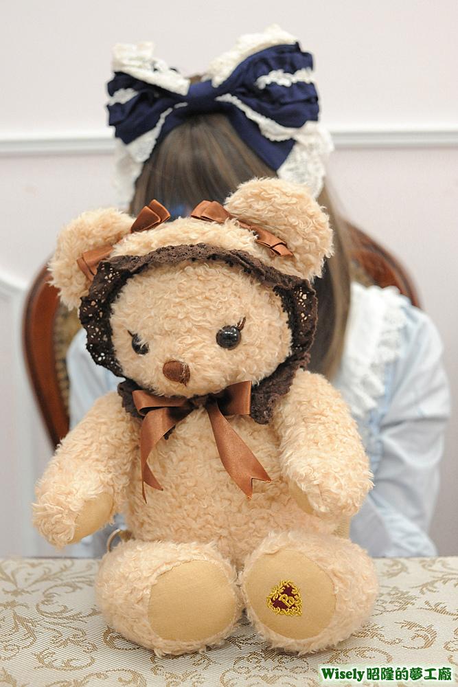 熊布偶背包