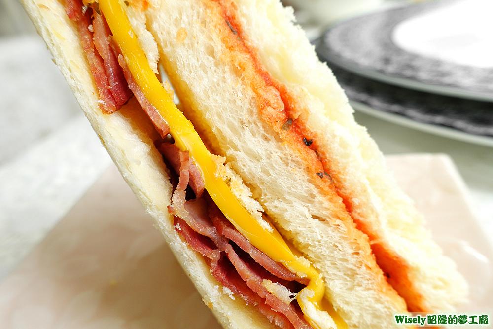 野豬騎士三明治