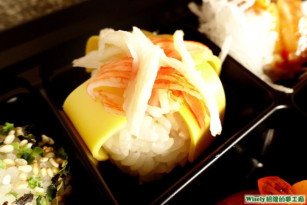 蟹肉起司壽司