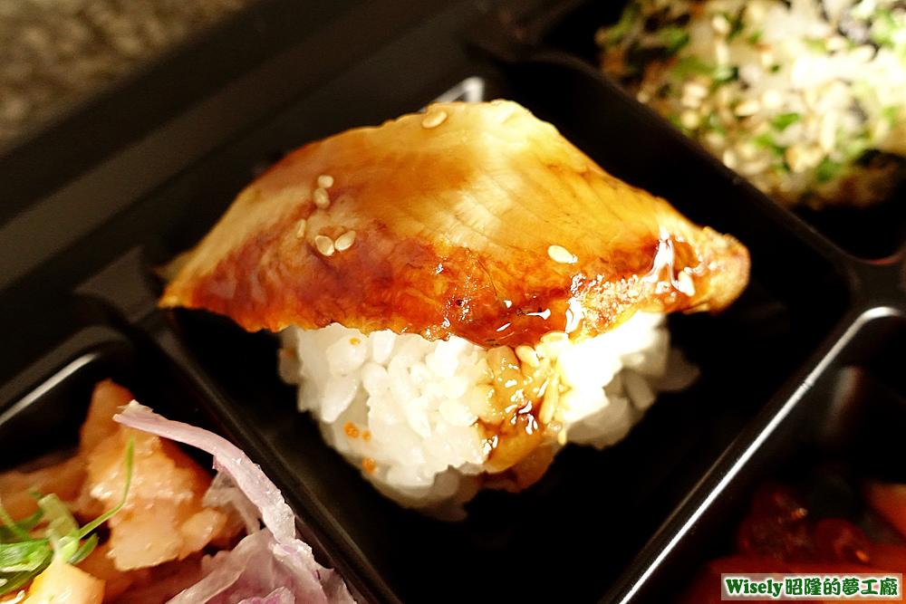 蒲燒鰻壽司
