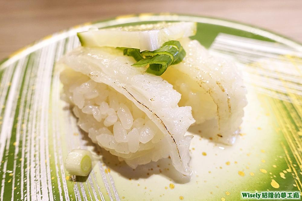 炙燒比目魚握壽司