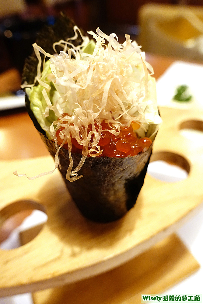 北海道鮭魚卵手卷
