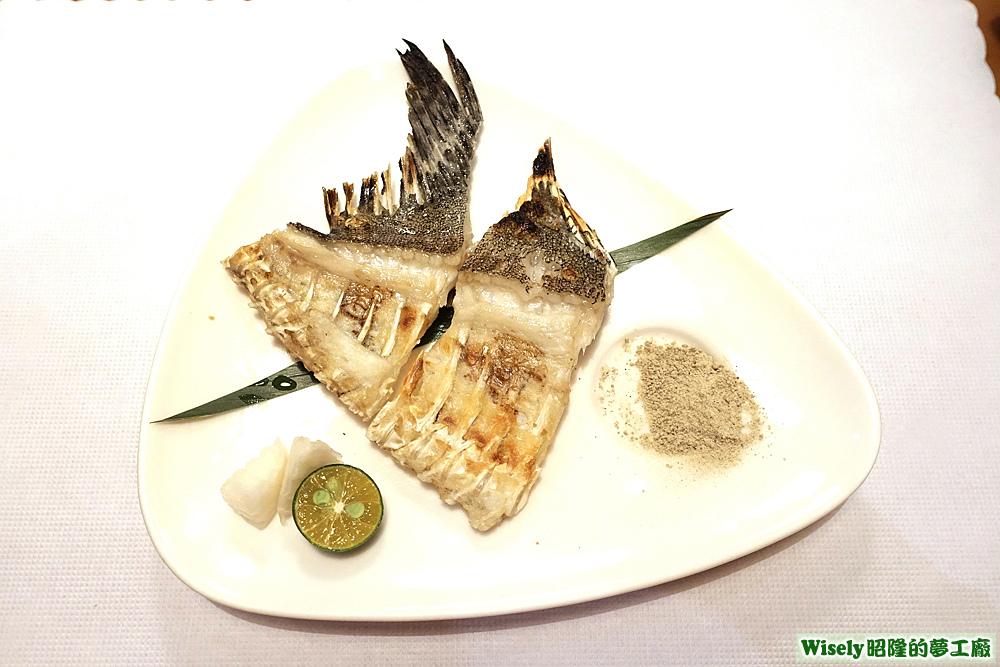 鹽烤夢幻石鯛龍骨鰭邊肉