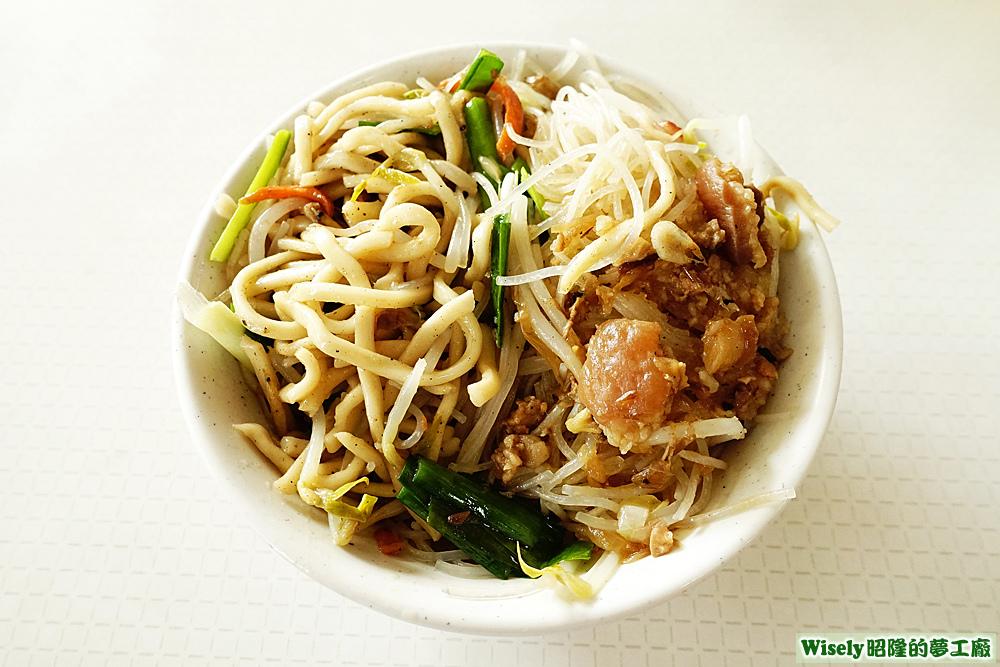 炒麵+炒米粉