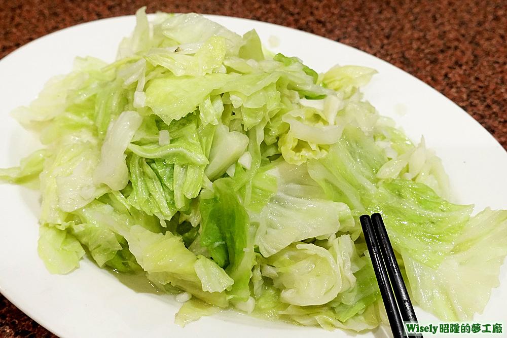 炒高麗菜(兩份)