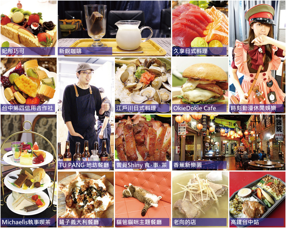 食記分類目錄20160915