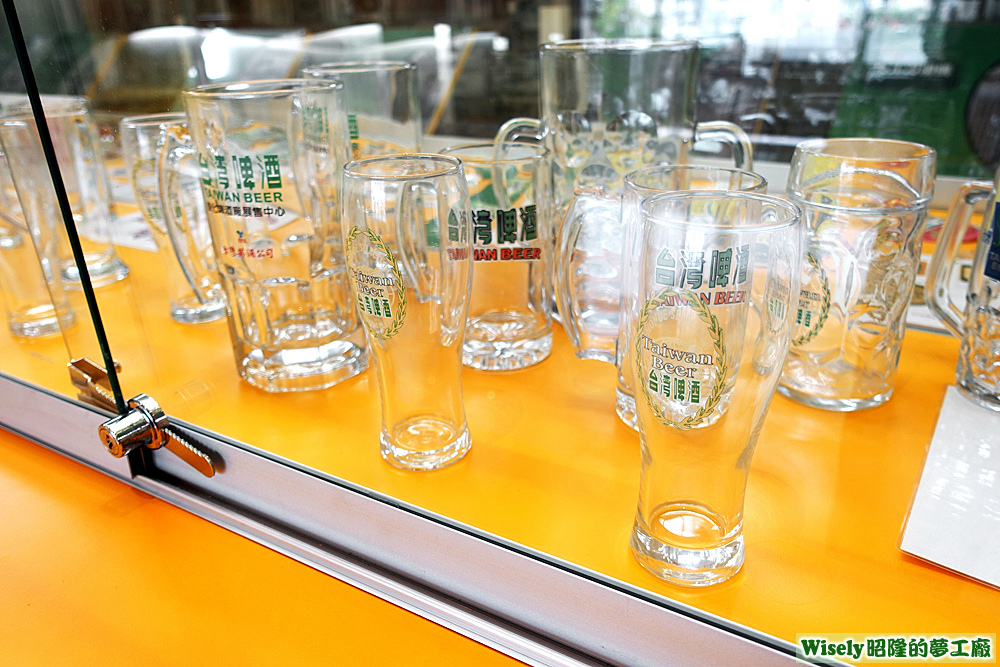 展示玻璃杯