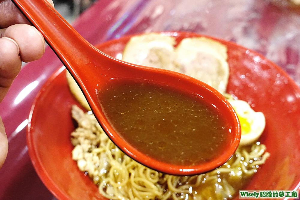 海老醬油湯頭