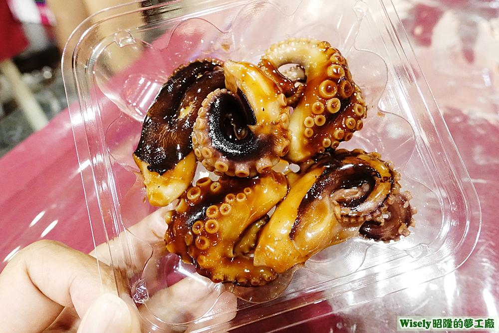 章魚櫻花燒