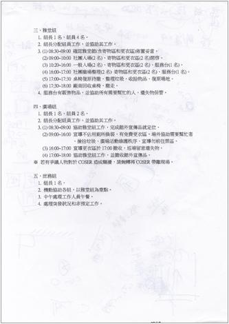 ACC2工作人員分組工作內容-2