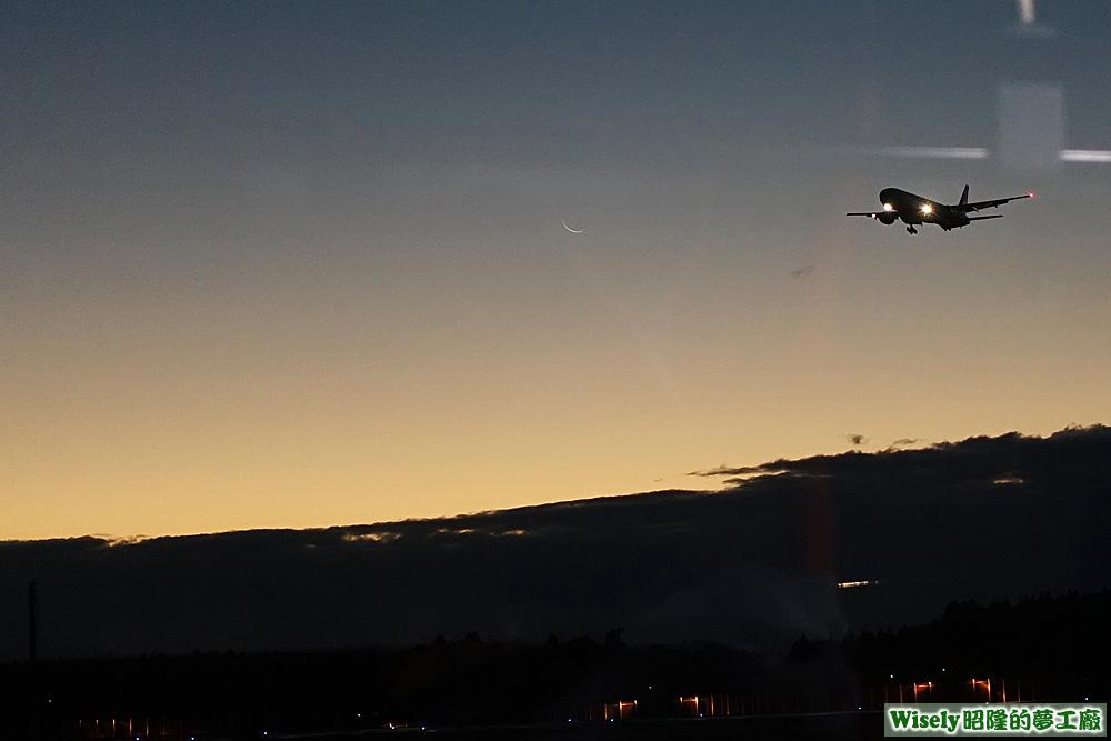 成田機場黎明