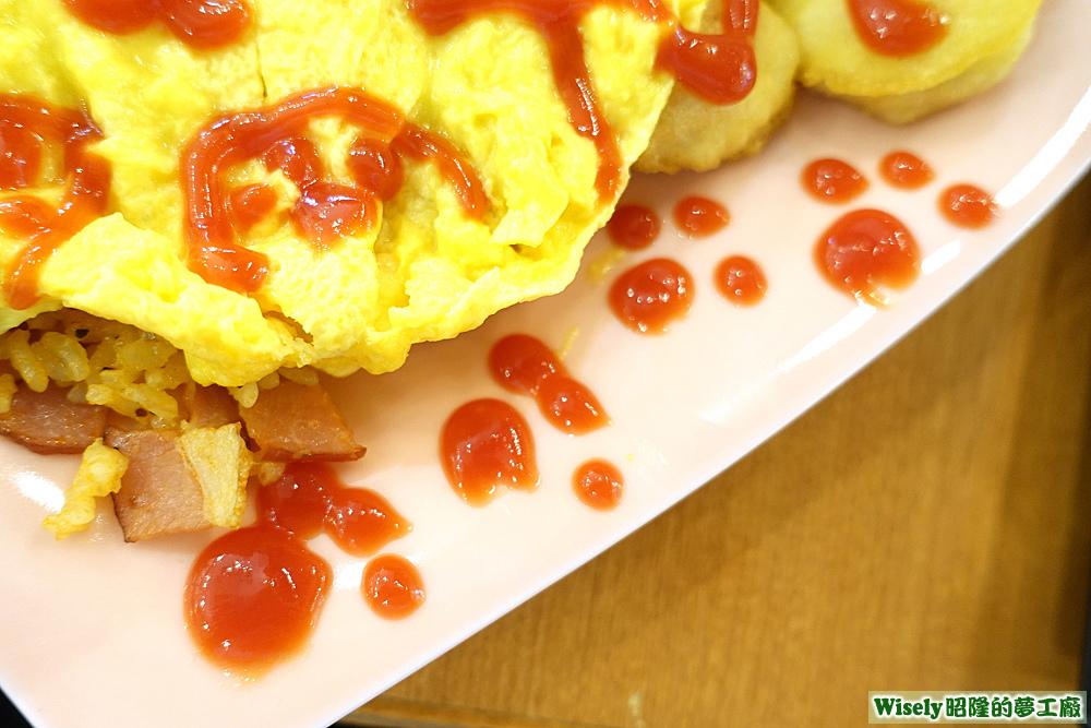 蕃茄醬貓咪腳印