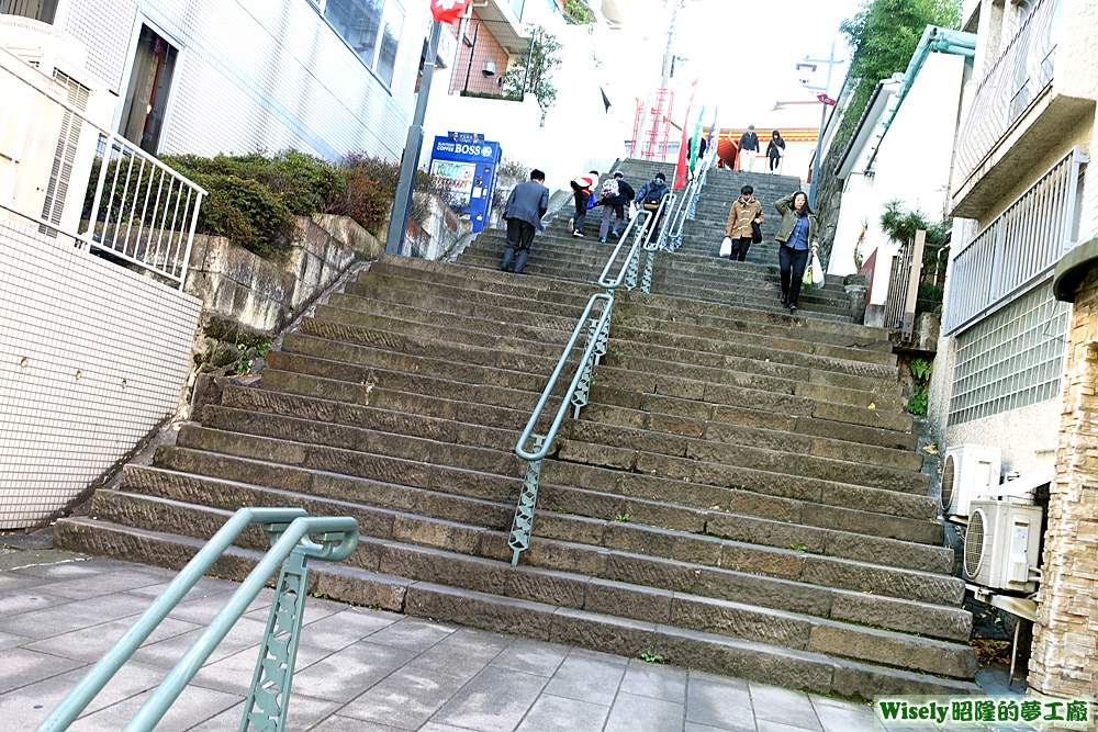 神田明神樓梯