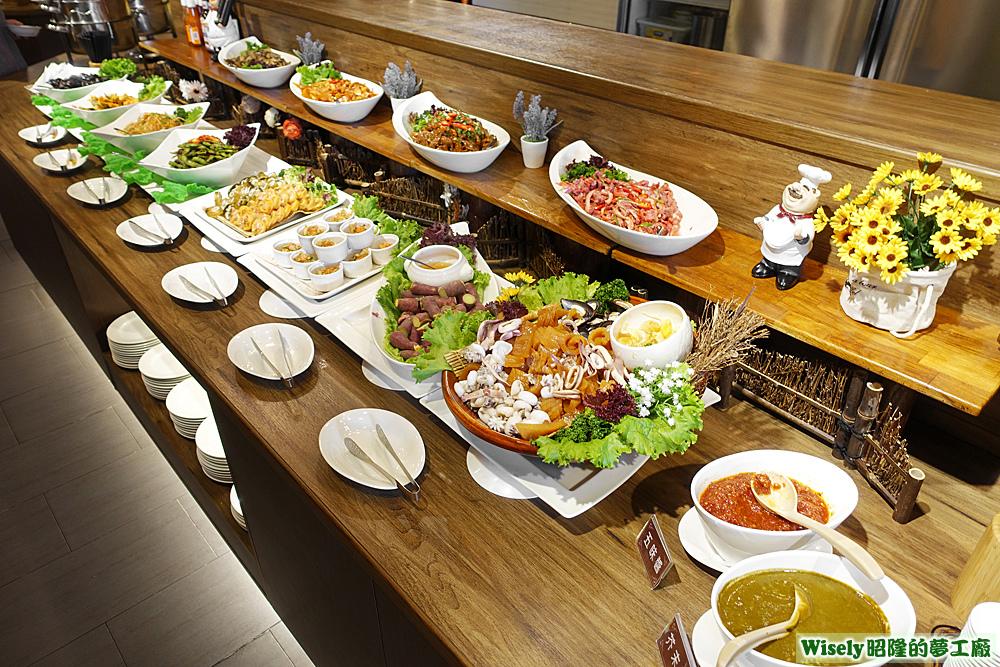 海鮮小菜區