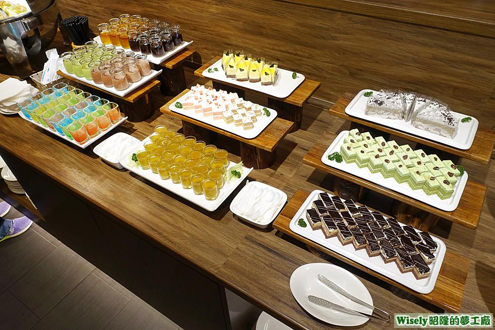 甜點蛋糕區