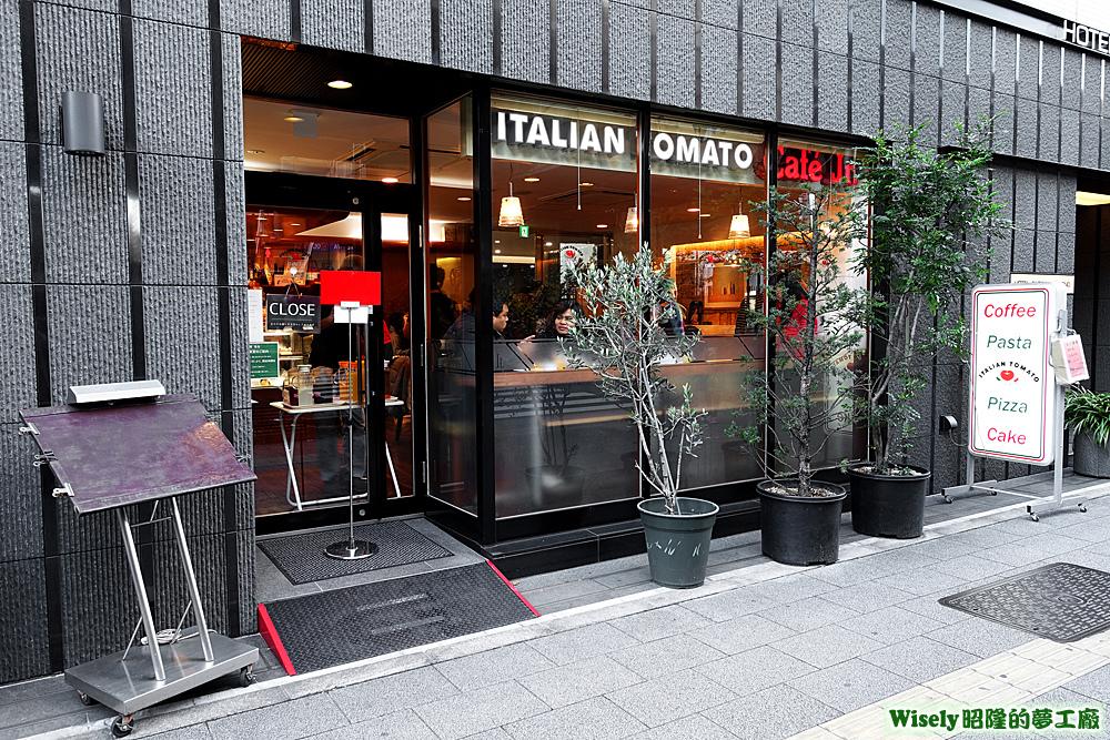 ITALIAN TOMATO Café Jr.店面招牌