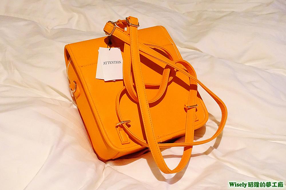 WEGO ランド セル型リュック(オレンジ)(正面)