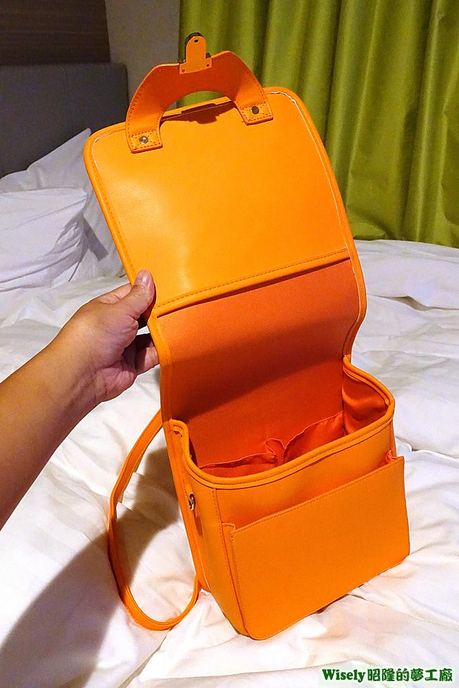 WEGO ランド セル型リュック(オレンジ)
